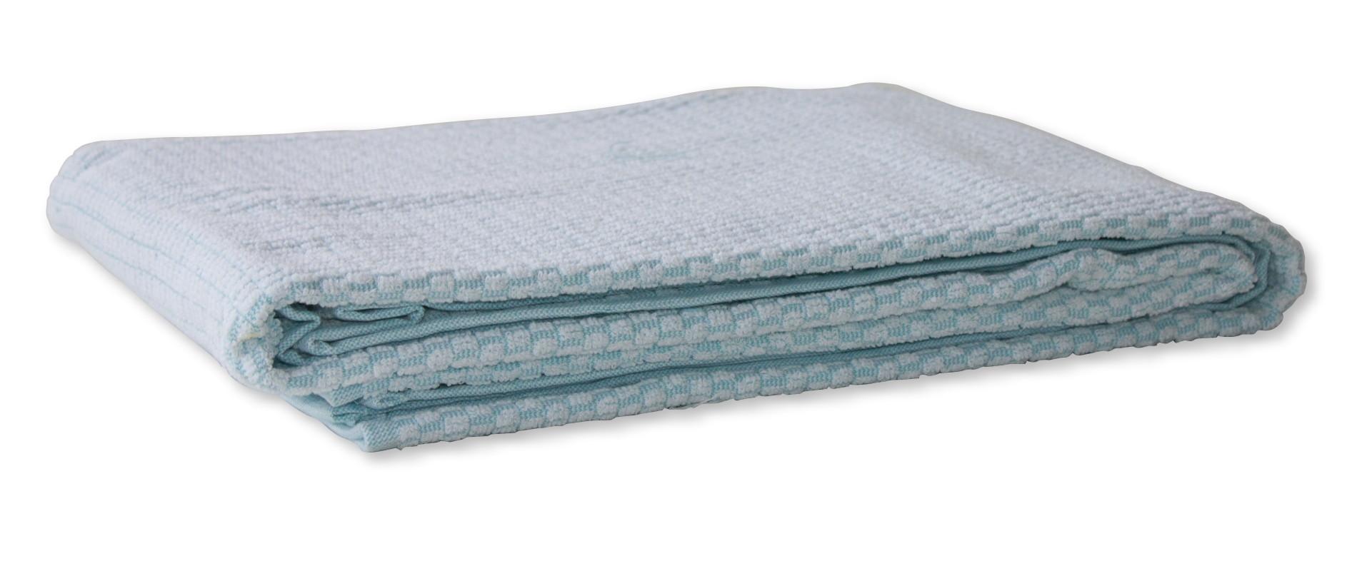badstof deken ziekenhuis kleur mint