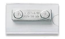 Badgehouder met magneet sluiting