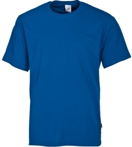 t shirt koningsblauw