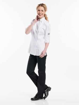 koksbuis 93200 Lady Comfort white 3kwarts mouw