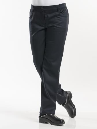 kokspantalon 19800 Lady Skinny Black Stretch 1
