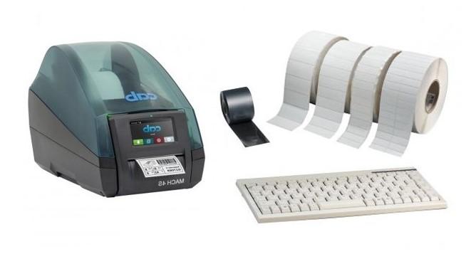TT4 M met toetsenbord en verbruiksartikelen