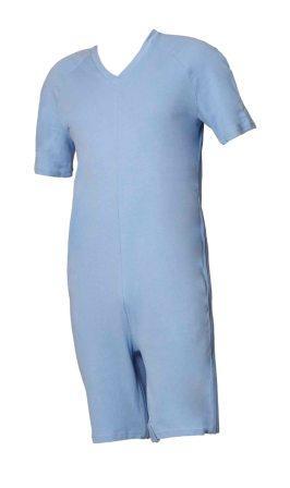 Hansop, tricot met V-hals, antibacterieel