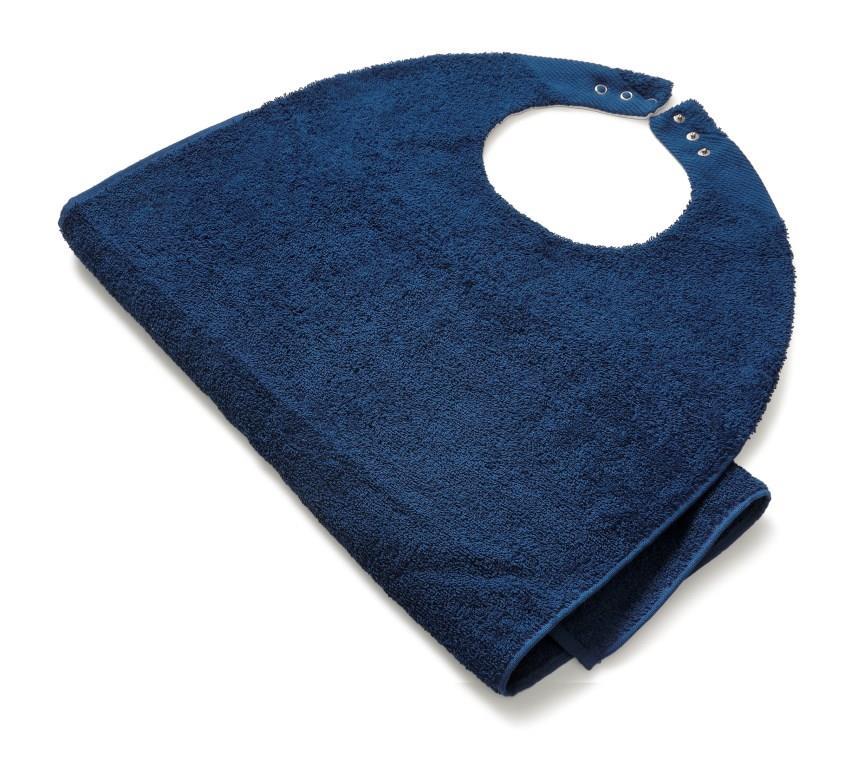 Slab voor volwassnenen badstof blauw