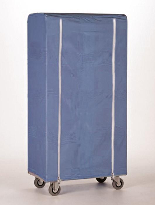 Containerhoes blauw met rits
