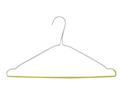draadhanger met antislip geel