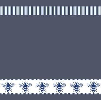 DDDDD-Honey 50x55cm blue kitchen towel.jpg